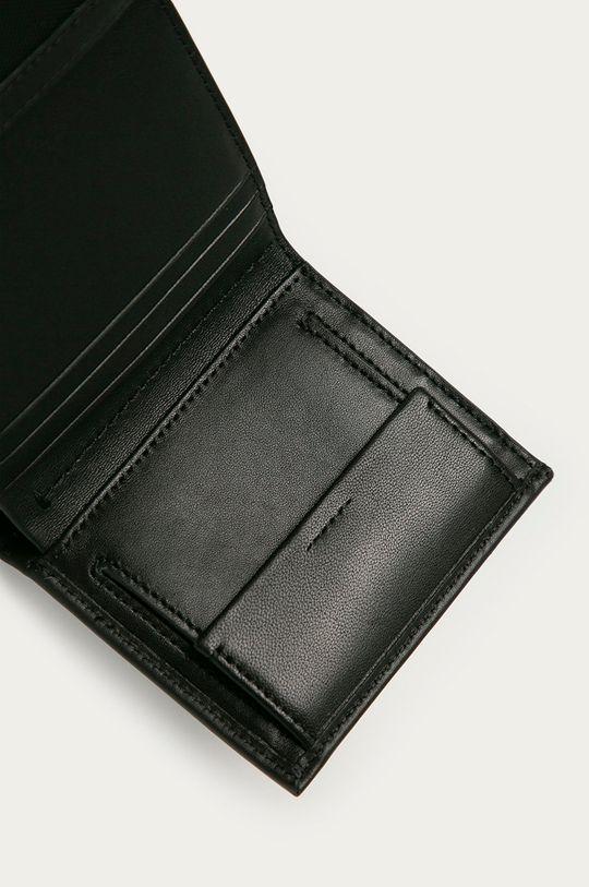 černá Calvin Klein - Kožená peněženka