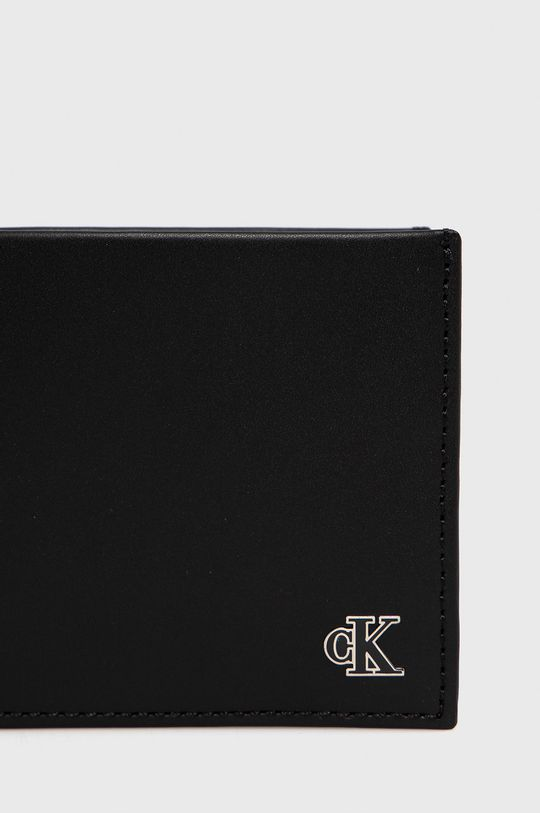 Calvin Klein Jeans - Portfel skórzany 100 % Skóra naturalna