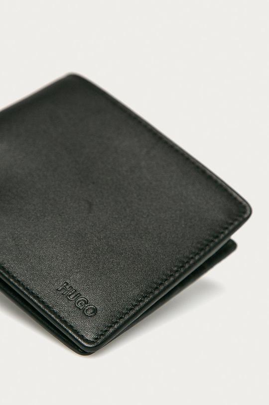 Hugo - Kožená peňaženka čierna