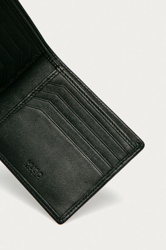 čierna Hugo - Kožená peňaženka