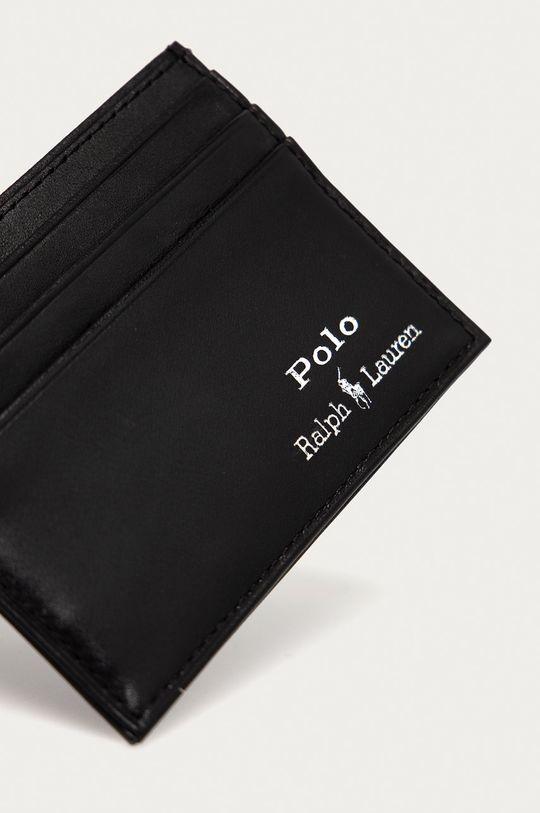 Polo Ralph Lauren - Portfel skórzany czarny