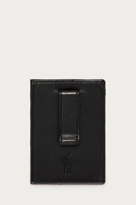 Polo Ralph Lauren - Portfel skórzany Skóra naturalna