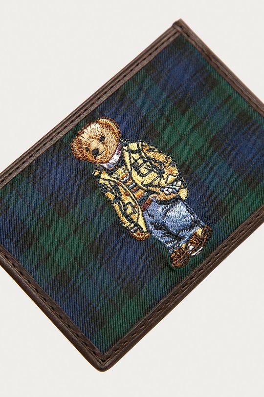 Polo Ralph Lauren - Peněženka  Textilní materiál, Přírodní kůže