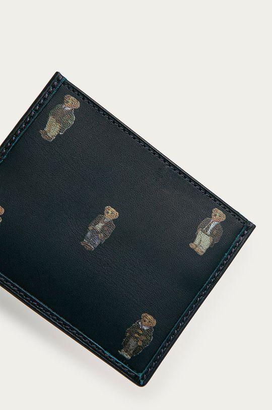 Polo Ralph Lauren - Portfel skórzany granatowy