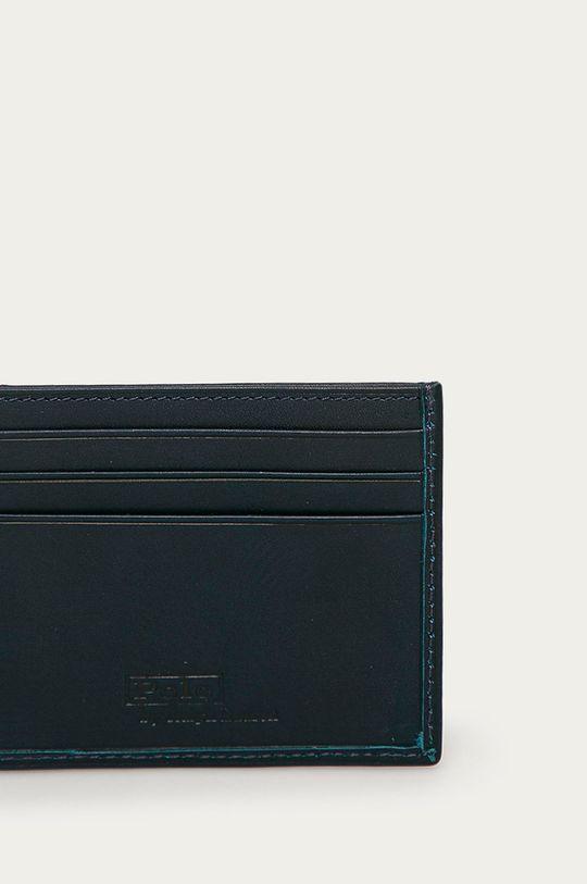 granatowy Polo Ralph Lauren - Portfel skórzany