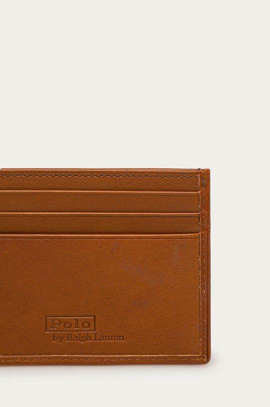 Polo Ralph Lauren - Portfel skórzany brązowy