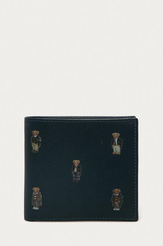 námořnická modř Polo Ralph Lauren - Kožená peněženka Pánský