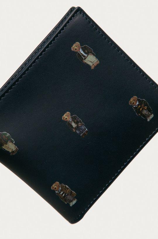 námořnická modř Polo Ralph Lauren - Kožená peněženka