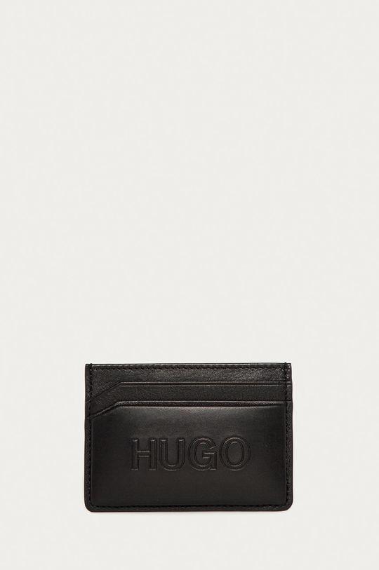 negru Hugo - Portofel de piele De bărbați