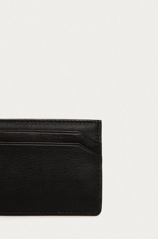 negru Hugo - Portofel de piele