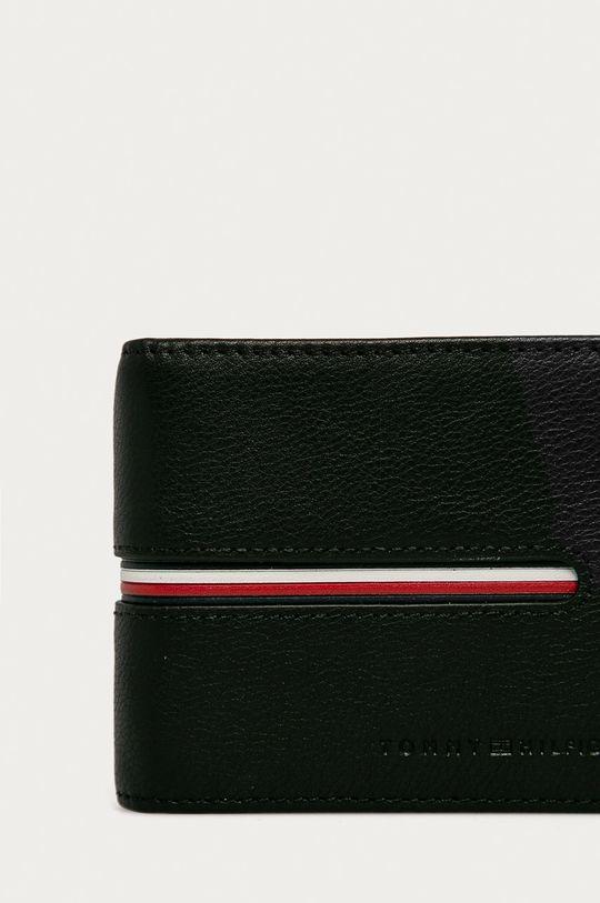 čierna Tommy Hilfiger - Kožená peňaženka