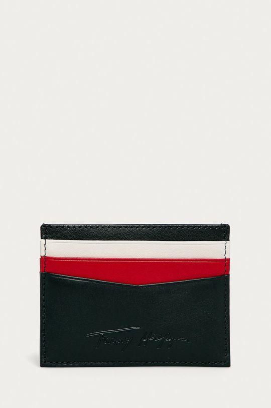 tmavomodrá Tommy Hilfiger - Kožená peňaženka Pánsky