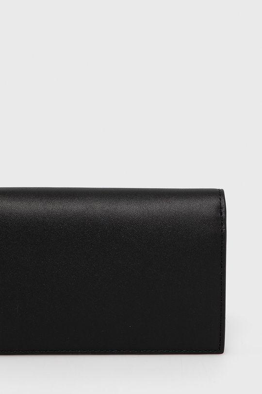 Lacoste - Kožená peňaženka  Podšívka: 100% Polyester Základná látka: 100% Hovädzia koža