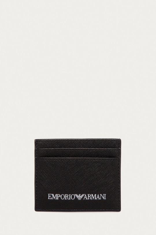 negru Emporio Armani - Portofel De bărbați