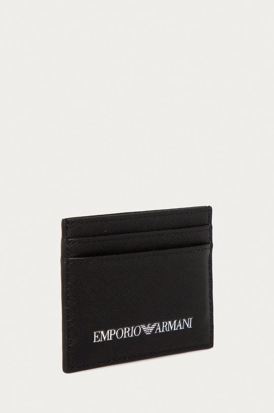 Emporio Armani - Portofel negru