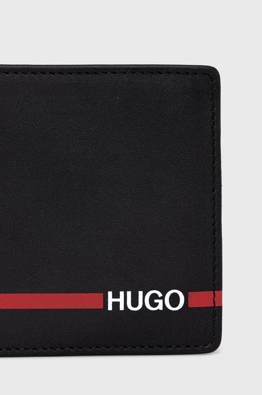 Hugo - Portfel skórzany Podszewka: 100 % Poliester, Materiał zasadniczy: 100 % Skóra naturalna