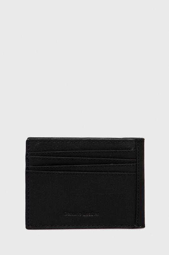 Pepe Jeans - Portfel skórzany Credit Card Wallet 100 % Skóra naturalna