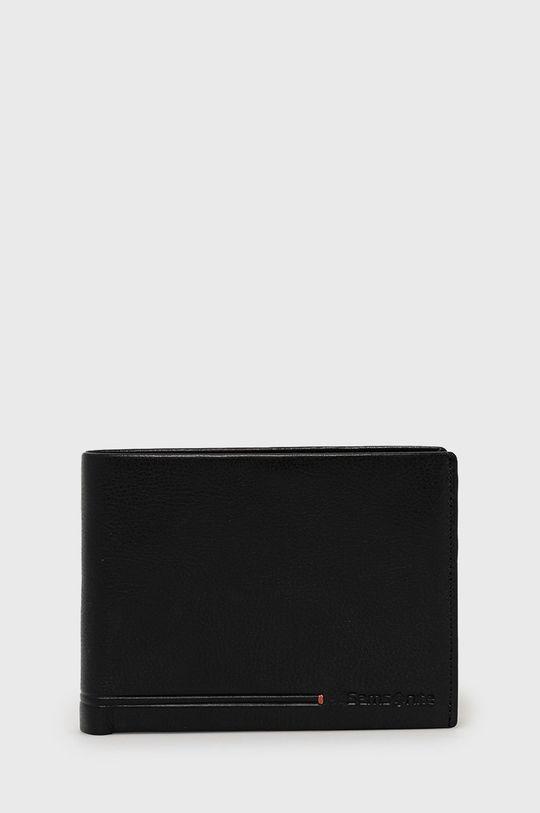 čierna Samsonite - Kožená peňaženka Pánsky