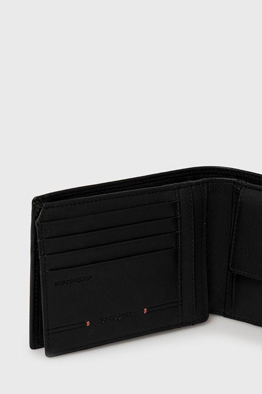 Samsonite - Kožená peňaženka čierna