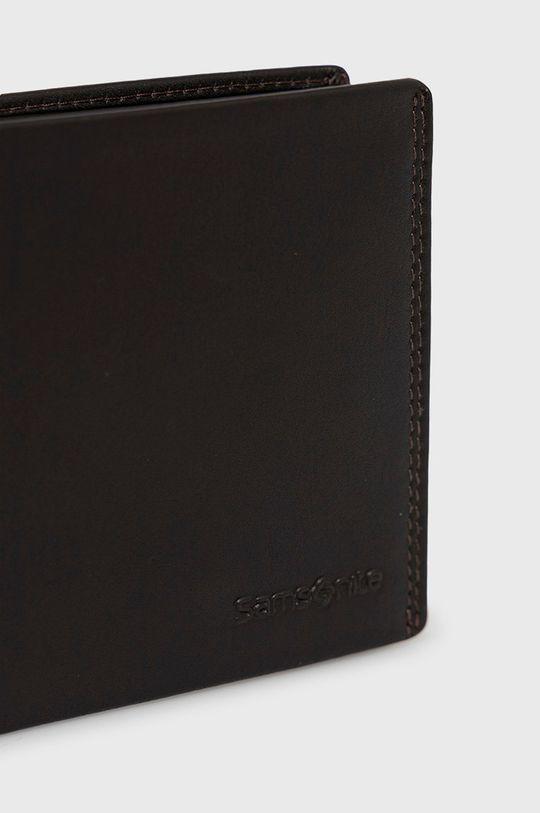 Samsonite - Kožená peňaženka hnedá
