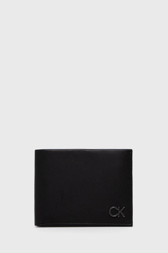 czarny Calvin Klein - Portfel Męski