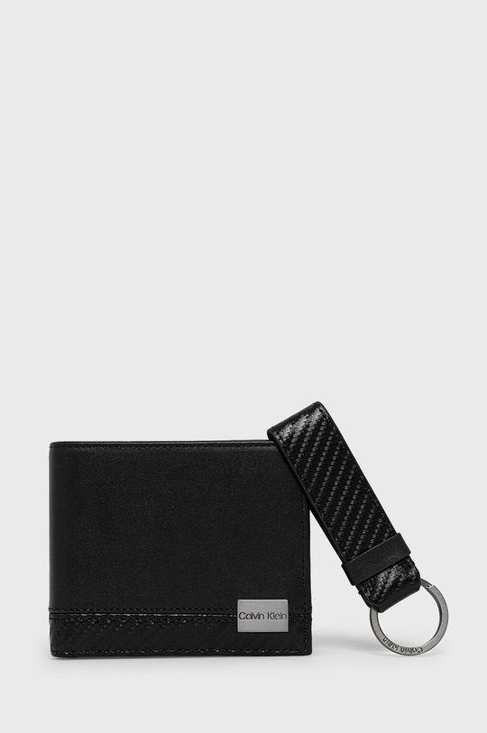 fekete Calvin Klein - Bőr pénztárca Férfi