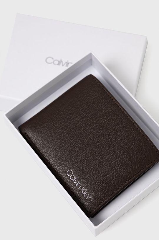 brązowy Calvin Klein - Portfel skórzany
