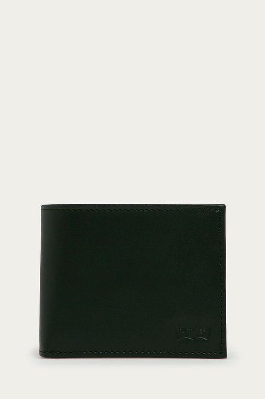 negru Levi's - Portofel de piele Unisex