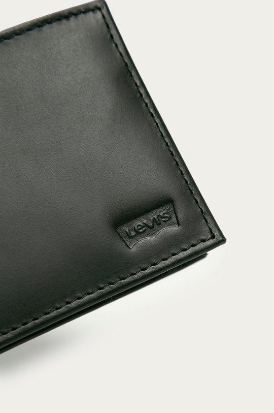 Levi's - Portofel de piele negru
