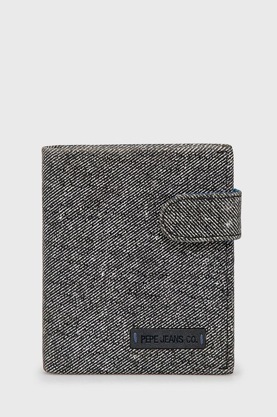szary Pepe Jeans - Portfel skórzany Unisex