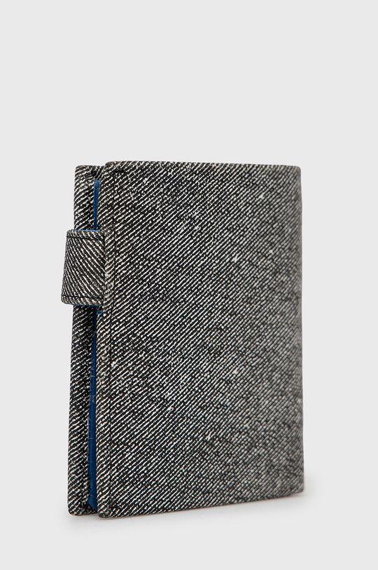Pepe Jeans - Portfel skórzany szary