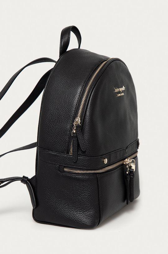 Kate Spade - Kožený ruksak čierna