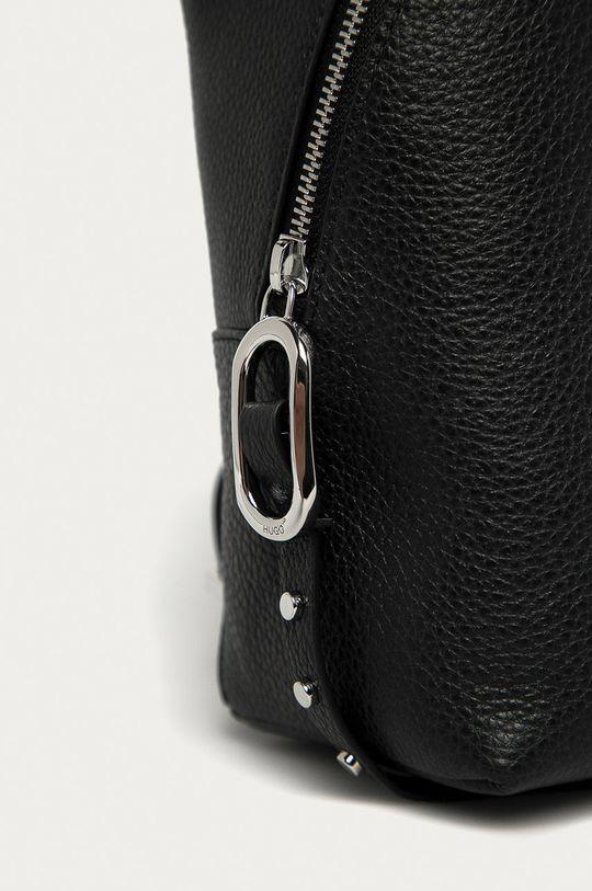 Hugo - Kožený batoh černá
