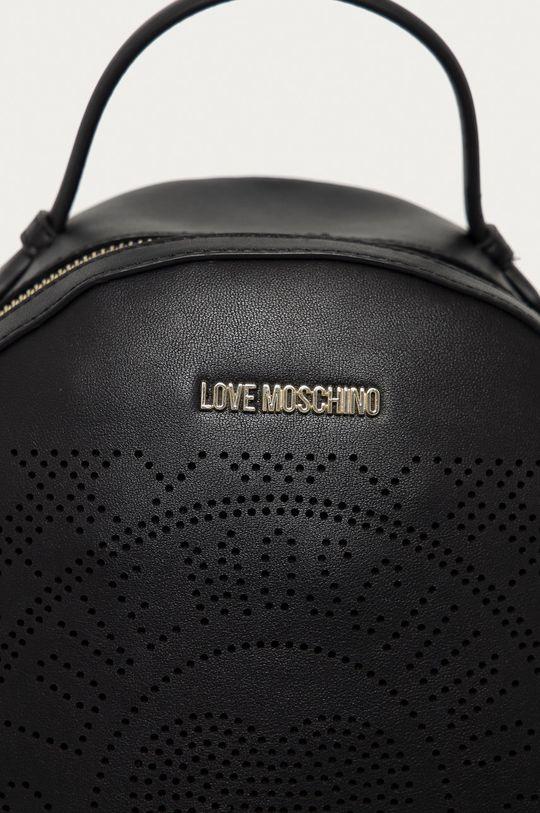 czarny Love Moschino - Plecak