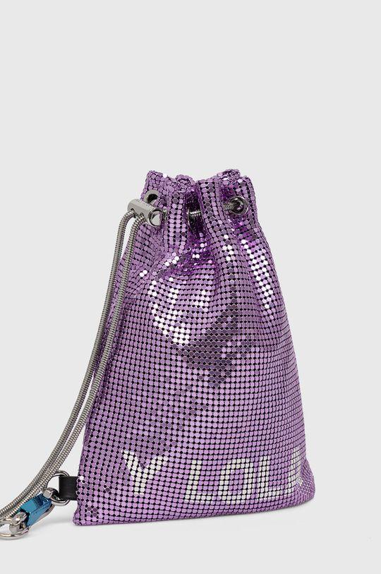 BIMBA Y LOLA - Plecak Podszewka: 100 % Poliester, Materiał zasadniczy: 90 % Aluminium, 5 % Poliamid, 5 % Poliuretan