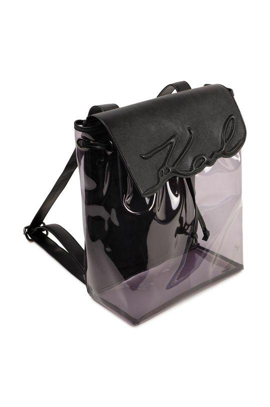 czarny Karl Lagerfeld - Plecak dziecięcy Dziewczęcy