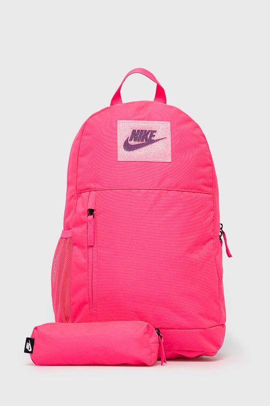 ostry różowy Nike Kids - Plecak Dziewczęcy