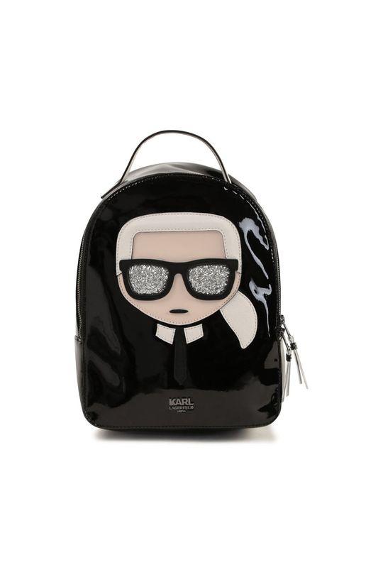 czarny Karl Lagerfeld - Plecak dziecięcy Dziecięcy