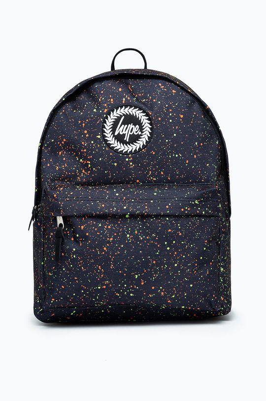 čierna Hype - Detský ruksak NEON SPLAT Detský