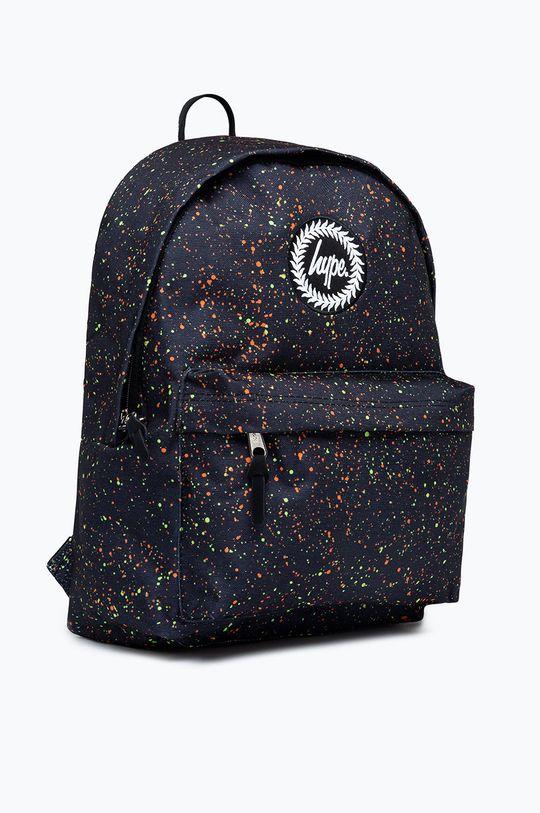 Hype - Detský ruksak NEON SPLAT čierna