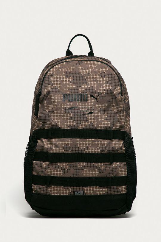 brązowy Puma - Plecak Męski