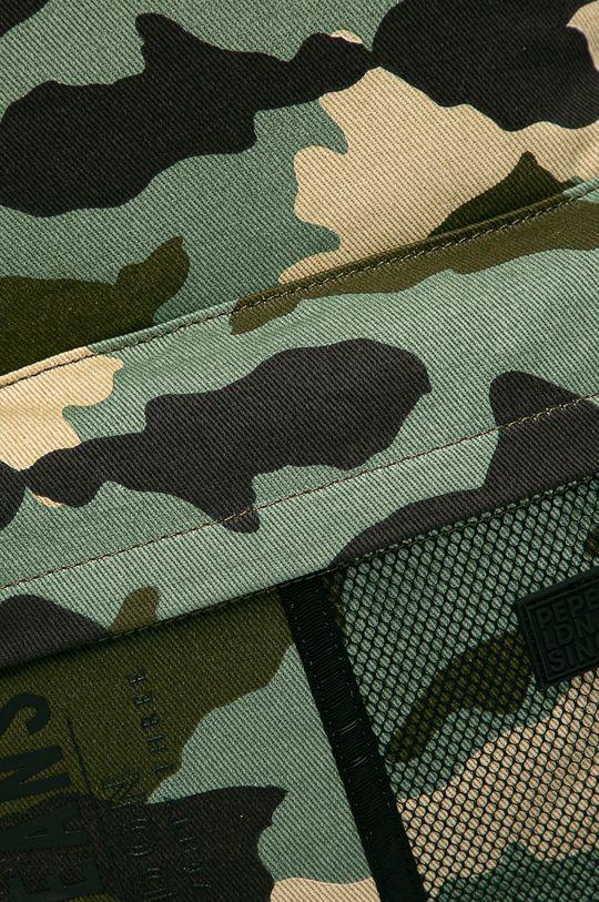 Pepe Jeans - Ruksak Hidalgo vojenská zelená