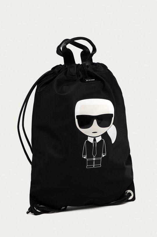 Karl Lagerfeld - Plecak 93 % Poliamid, 7 % Skóra naturalna