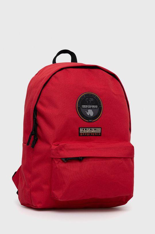 Napapijri - Plecak ostry czerwony