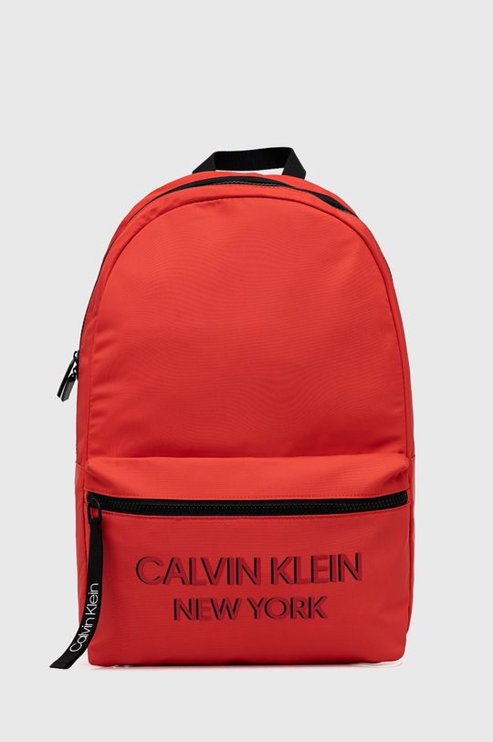 czerwony Calvin Klein - Plecak Męski