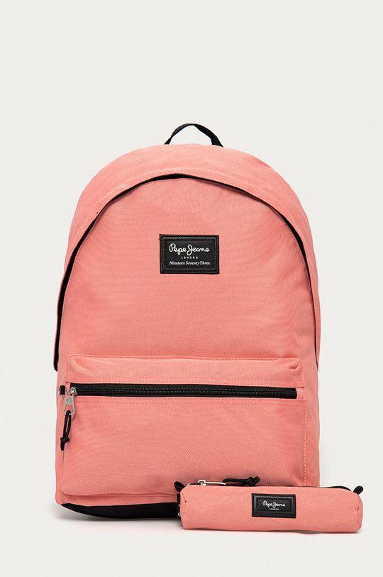 różowy Pepe Jeans - Plecak Aris Unisex