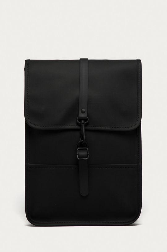 czarny Rains - Plecak 1366 Backpack Micro Unisex