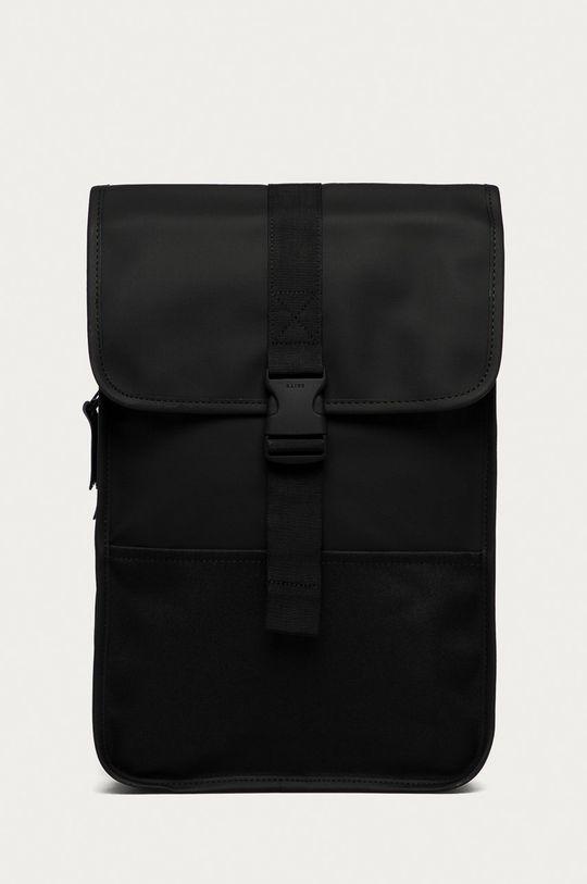 černá Rains - Batoh 1370 Buckle Backpack Mini Unisex