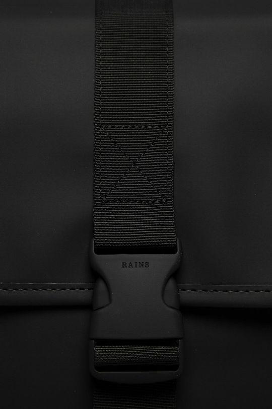 Rains - Batoh 1370 Buckle Backpack Mini černá