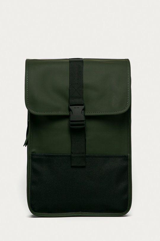 hnedo zelená Rains - Ruksak 1370 Buckle Backpack Mini Unisex